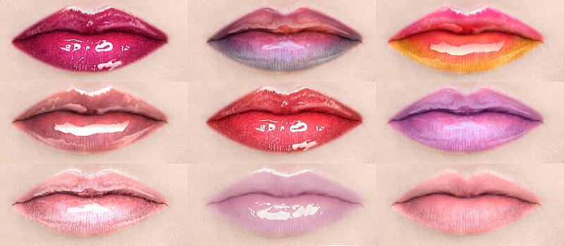Lip Gloss Brush Fx Ray