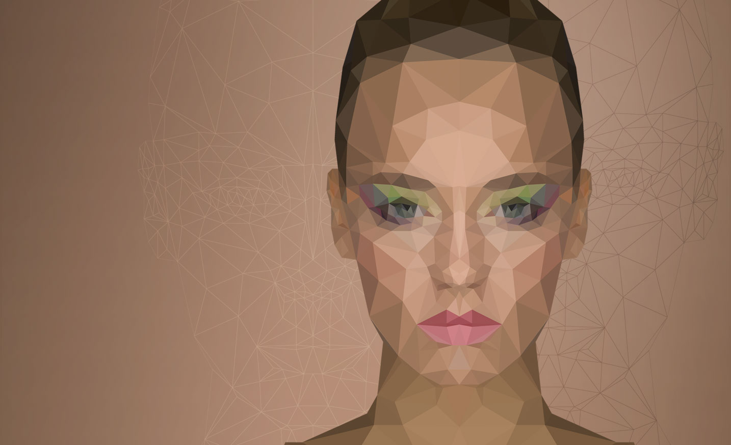 Low poly portrait fx ray primary mobile navigation baditri Image collections