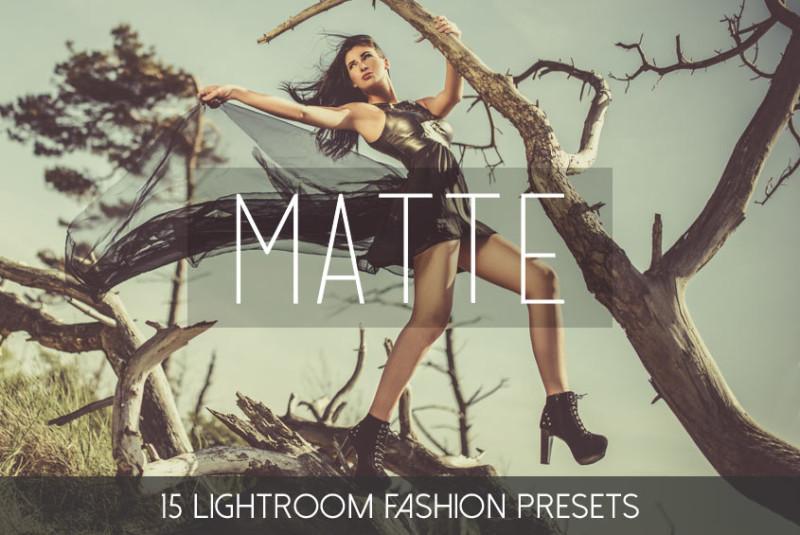 Lightroom_Presets_Matte_Fashion